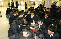 東京駅に集合