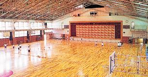 第1体育館1Fアリーナ